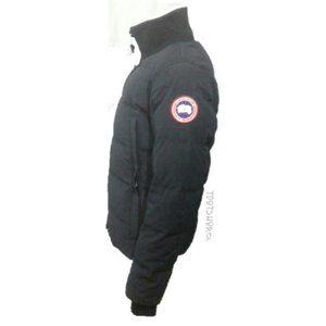 CANADA GOOSE WOOLFORD DOWN BOMBER NAVY NWOT
